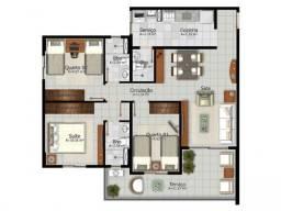 Oportunidade. pronto pra morar. 3 quartos (1) Suite, apenas 10% de Entrada!