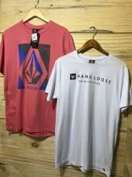 Promoção 2 camisetas por R$ 49,99 no dinheiro