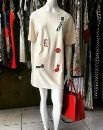 Camisete / vestido feminina ZARA