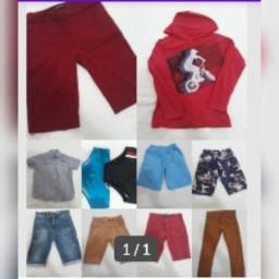Título do anúncio: Vendo 11 peças de roupas infantis de 10 anos a 16 anos tudo junto.
