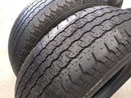 Pneu Usado Aro 16 265/70 Bridgestone