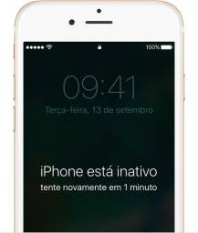 Conserto iPhone inativo!!!!!