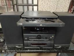 Aparelho de de som antigo Toshiba