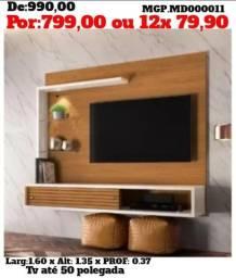 Painel de televisão até 50 Polegada-Painel de TV- Sala de Estar-Grande-LiquidaPaineis