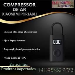Título do anúncio: Mini compressor de ar portátil XIAOMI / Para carro/moto/bicicleta/bola