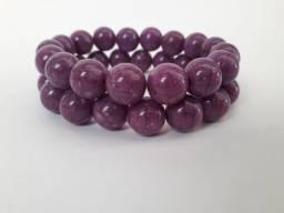 Título do anúncio: Pulseiras cor uva - novas