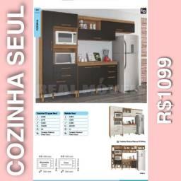 Armário de cozinha Seul armário 1099 armário