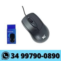 Mouse Usb com Fio Maxprint