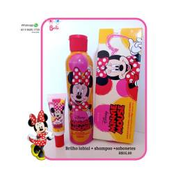 KIT Minnie e Mickey - sabonete / shampoo