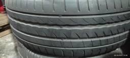 Título do anúncio: Par de pneus 225/50/17 Pirelli seminovos