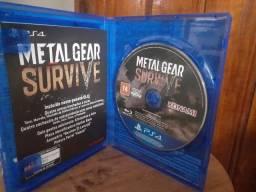 Título do anúncio: Jogo PS4 METAL GEAR SURVIVE