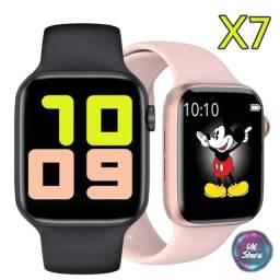 Smartwatch X7 relógio inteligente digital feminino masculino novo