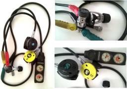 Conjunto Regulador Scuba-Pro para mergulho autonomo
