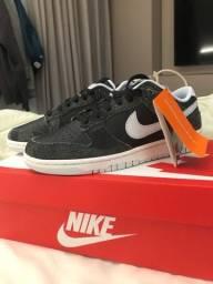 Nike dunk low zebra tamanho 38