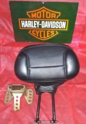Encosto piloto ou Sissy Bar original Harley Davidson
