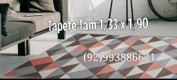 TAPETES Geométrico Tam 1, 33 x 1, 90
