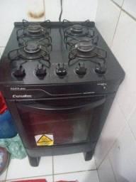 Vendo fogão Esmaltec de vidro  menos de 1 ano de uso