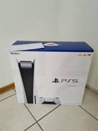 Playstation 5 PS5 Com Leitor de Disco (Mídia Física) Lacrado c/ NF