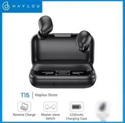 FONE DE OUVIDO - Haylou T15 _ Original - Bluetooth<br>