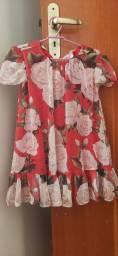 Título do anúncio: Vestido LULUZINHA florido 2 anos