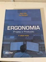 Livro Ergonomia Projeto e Produção