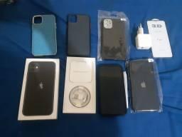 Iphone 11 128g Zero impecável com nota e garantia