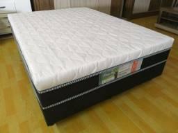 Cama box casal 10 cm espuma - Nova
