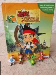 Livro Jack pirata miniaturas inclusas