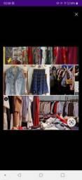 Lote de roupas para brecho e bazar