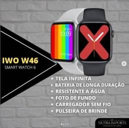 Smart Watch IWO W46 Série 6/Novo/Original
