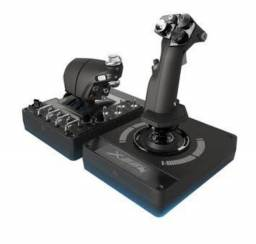 Controle de simulação Saitek x56 H.O.T.A.S