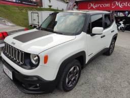 jeep renegade 1.8 sport automatico 2016 financiamento ate 60x