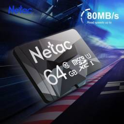Cartão de memória micro sd netac classe 10