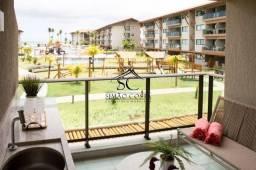 Apartamento Mobiliado à Venda no Polinésia Residence | 72 m | Melhor trecho de Praia