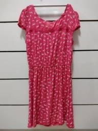 Título do anúncio: Vestido rosa de cachorrinho