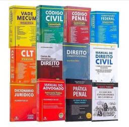 Coleção de direito semi nova