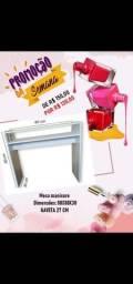 Promoção de mesa manicure