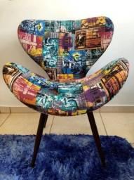 Poltronas / Cadeiras Decorativas Alto Padrão