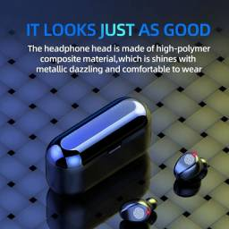 Fone de ouvido Bluetooth F9 5.0 Lançamento