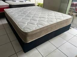 Título do anúncio: cama box queen size confortável  - ENTREGAMOS