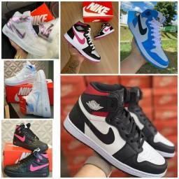 Promoção Tênis Nike Air Jordan ( 130 com entrega)