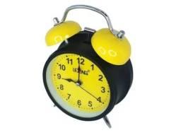Relógio de Mesa Retro Vintage Despertador LE-8103