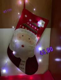 Título do anúncio: Bota papai Noel enfeite natalino