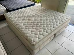 Título do anúncio: cama box KING SIZE 1.80 X 2.00 MAXFLEX  - ENTREGAMOS