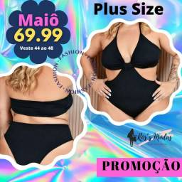 Título do anúncio: Maiôs Plus Size barato