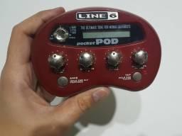 Line 6 POD Pocket + fonte original Line 6