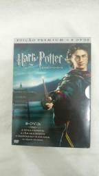 Dvd Coleção Harry Potter Anos 1, 2, 3, E 4 - Edição Premium