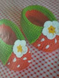 Sapatinhos croche