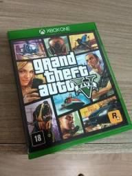 Jogo Gta V Grand Theft Auto V Xbox One Mídia Física