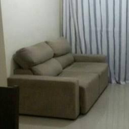Sofa de 2 lugares retrátil e reclinável